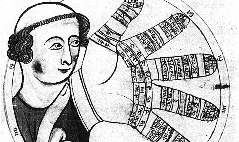 Guido of Arezzo invented early methods of musical notation.