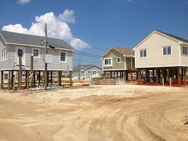 Rebuilding on Jersey Shore after Sandy