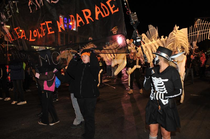 The Annual Village Halloween Parade