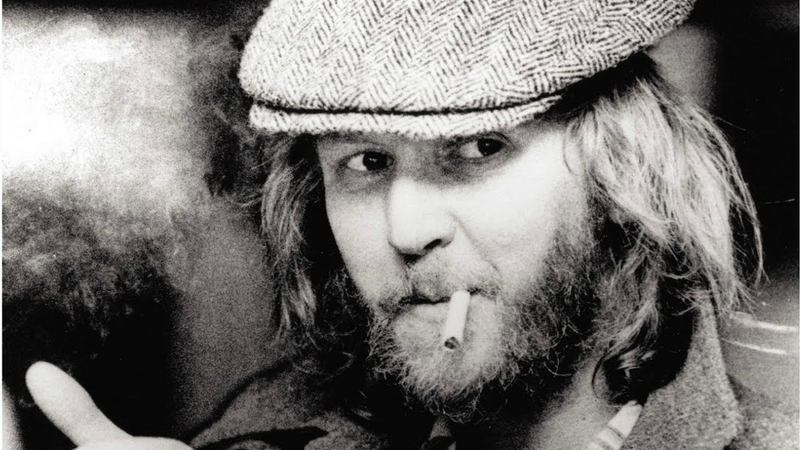 Harry Nilsson, on the poster for the documentary 'Who Is Harry Nilsson (And Why Is Everybody Talkin' About Him)?'