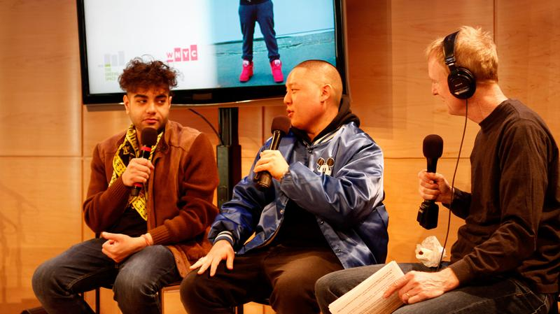 Rapper Heems and chef Eddie Huang chat with Soundcheck host John Schaefer in the Greene Space.