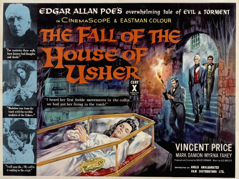 A poster for 'House of Usher'