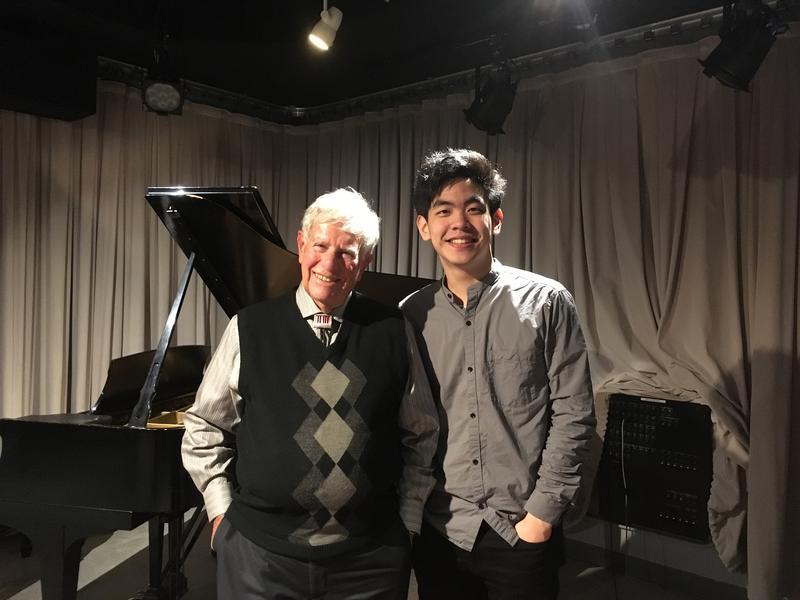 Bob Sherman and pianist Daniel Hsu