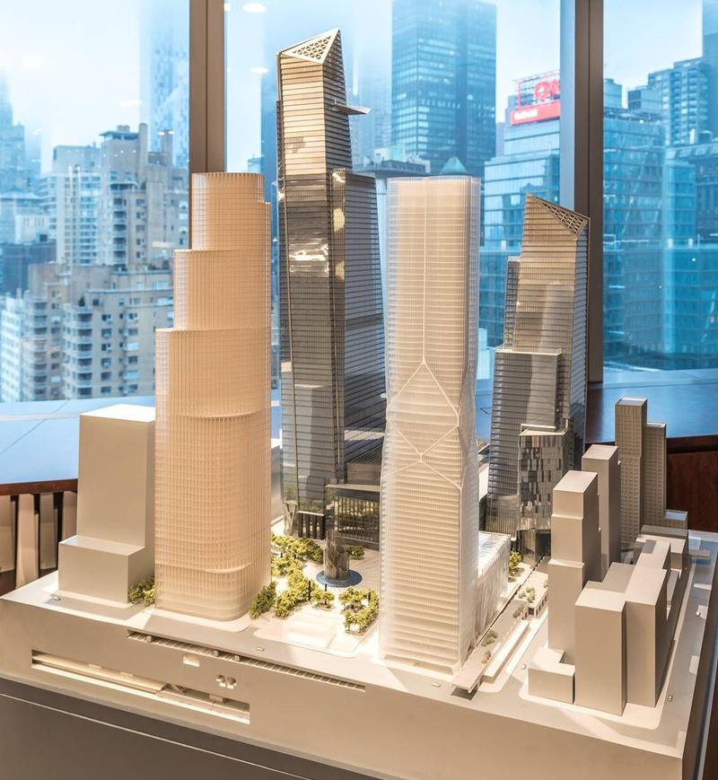 Rendering of Hudson Yards
