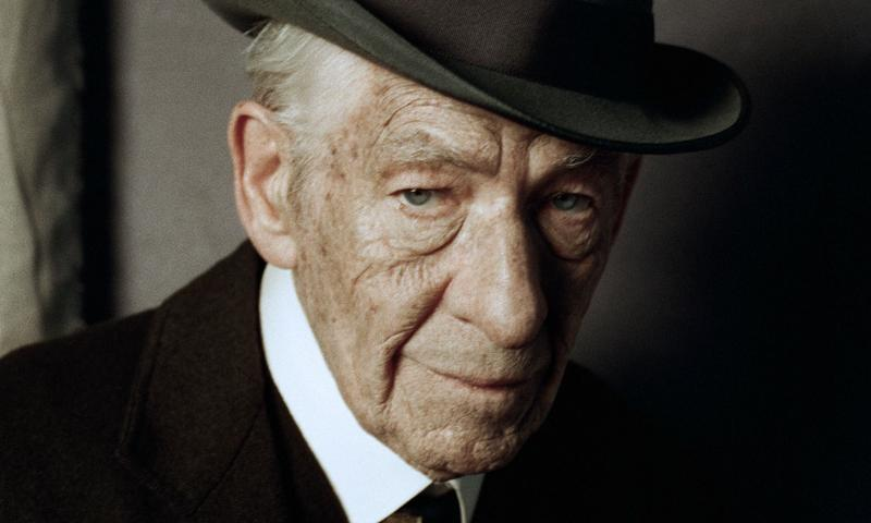 Ian McKellen in <em>Mr. Holmes</em>