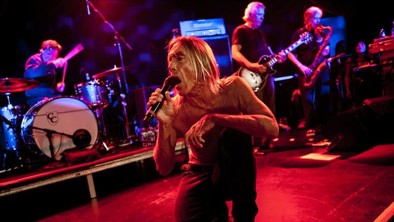 Iggy and the Stooges perform live at (le) Poisson Rouge in New York on Sunday April 28, 2013.