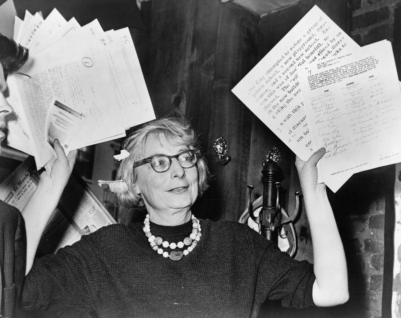Jane Jacobs, 1961.