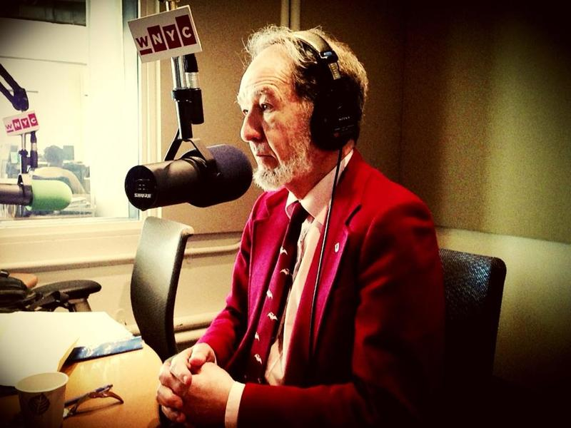 Author and geographer Jared Diamond in WNYC's Studio 2