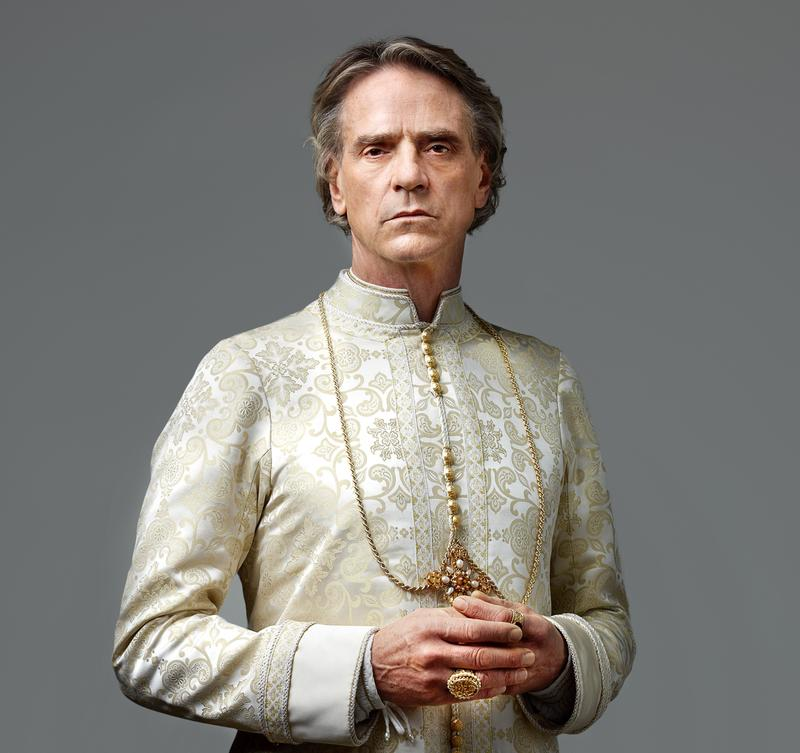 Jeremy Irons as Rodrigo Borgia from <em>The Borgias</em>