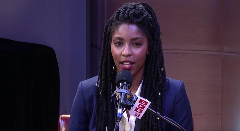 Jessica Williams at the Werk It festival in the Greene Space.