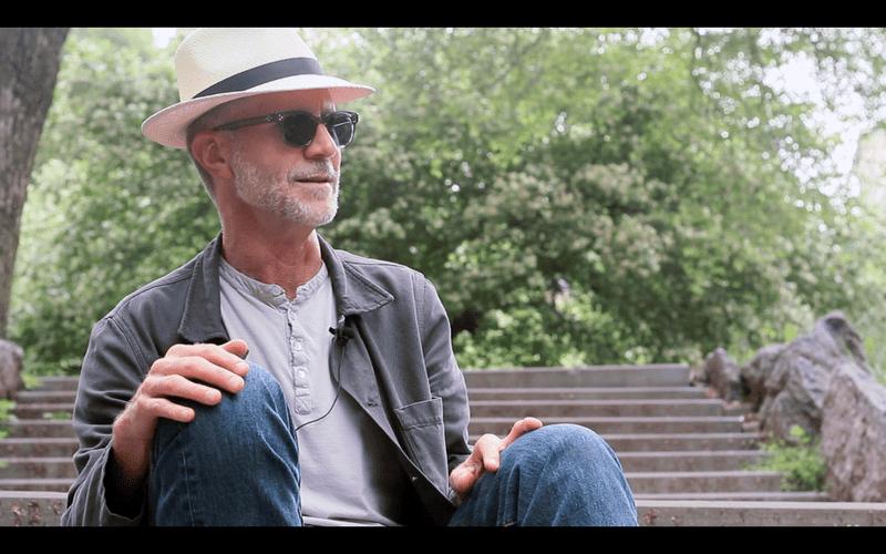 John Luther Adams at Morningside Park