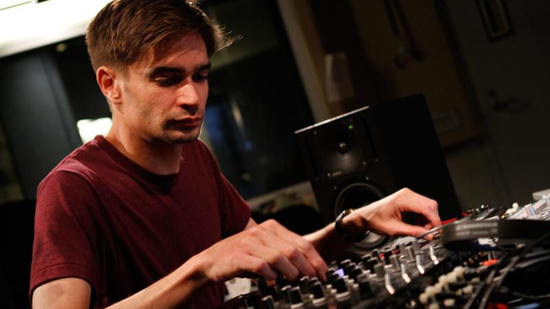 Jon Hopkins performs in the Soundcheck studio.