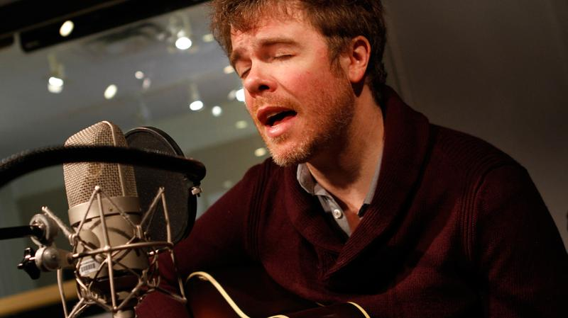 Josh Ritter performs in the Soundcheck studio.