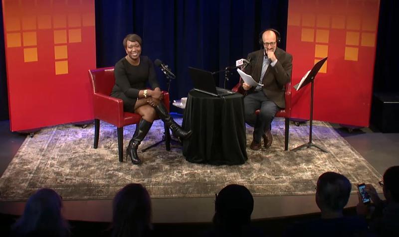 Joy-Ann Reid live with Brian Lehrer in the Greene Space.