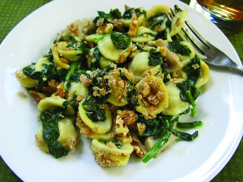 Mollie Katzen's Spinach-Mushroom Mac and Cheese, from The Heart of the Plate