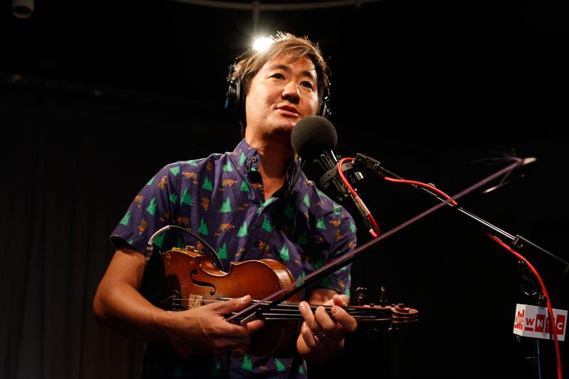 Kishi Bashi performs in the Soundcheck studio.