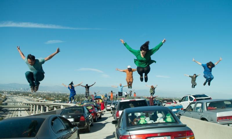 """The opening scene of Damien Chazelle's """"La La Land."""""""
