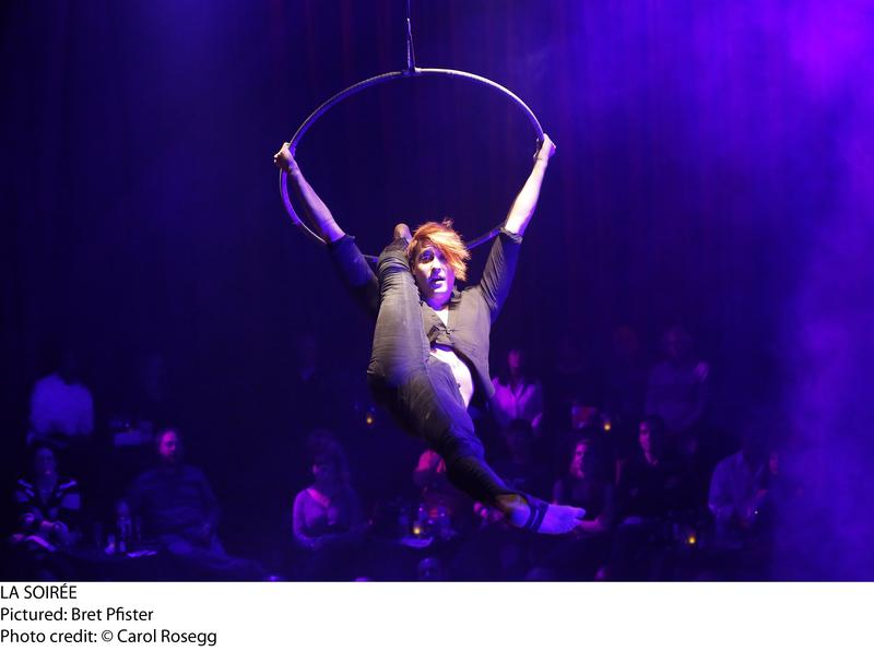 """Bret Pfister in the cast of """"La Soiree"""" now playing at the Union Square Theatre"""