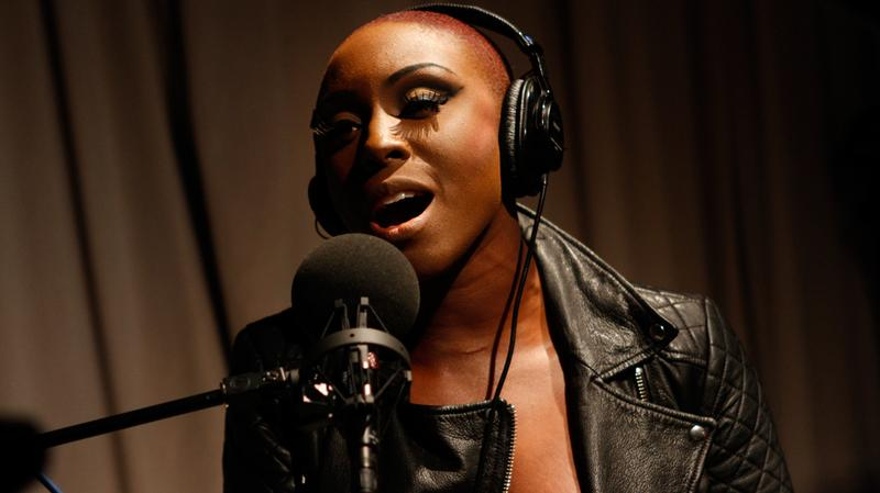 Laura Mvula performs in the Soundcheck studio.