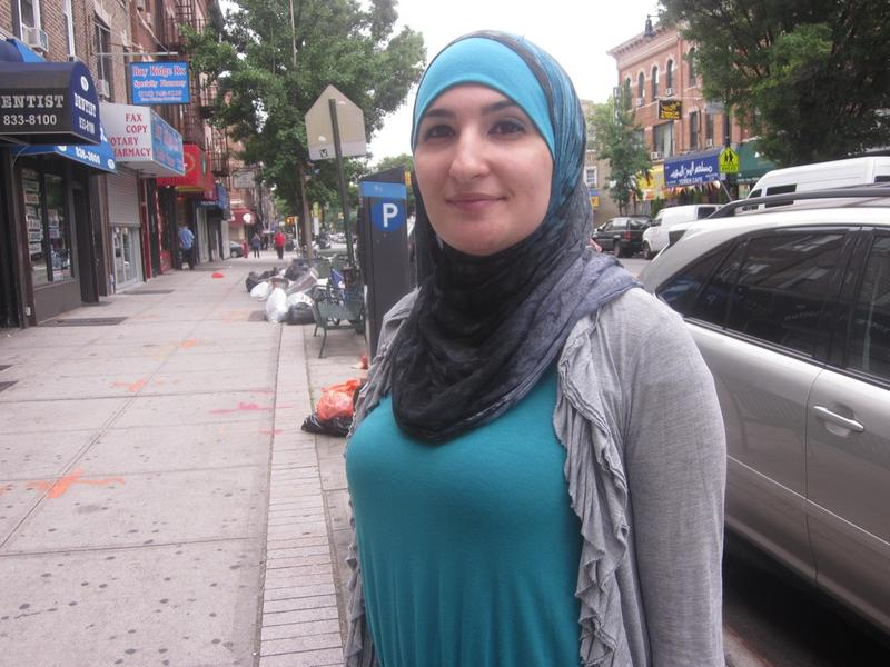 Linda Sarsour, of the Arab American Association of New York.