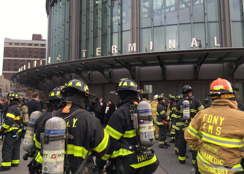 NY train derailment: 'I started flying to front of train'