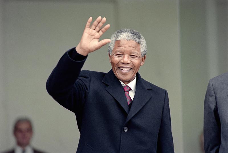 Nelson Mandela in 1990