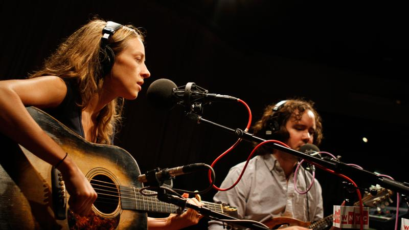 Mandolin Orange performs in the Soundcheck studio.