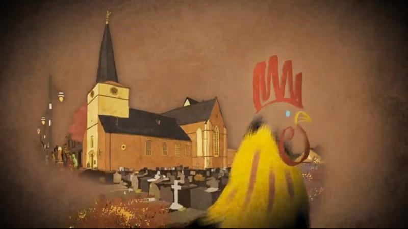 A scene from the short film 'Marcel, King Of Tervuren' by Tom Schroeder.