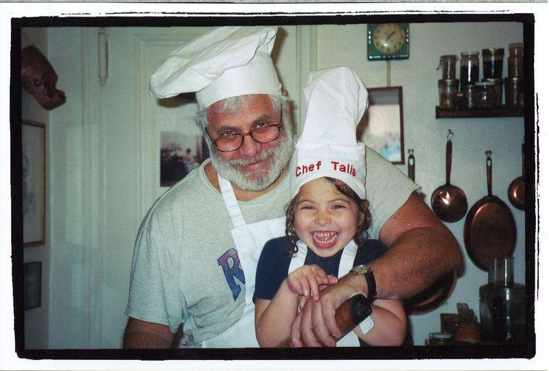 Mark Kurlansky and his daughter Talia, who have a weekly tradition of cooking meals from different cultures around the world.