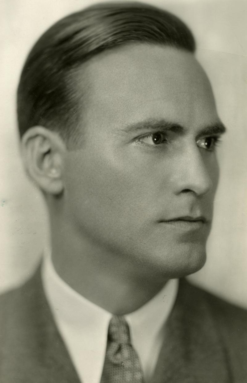 Macklin Marrow (1900-1953) Portrait by G. Allen Lawson, 1932.