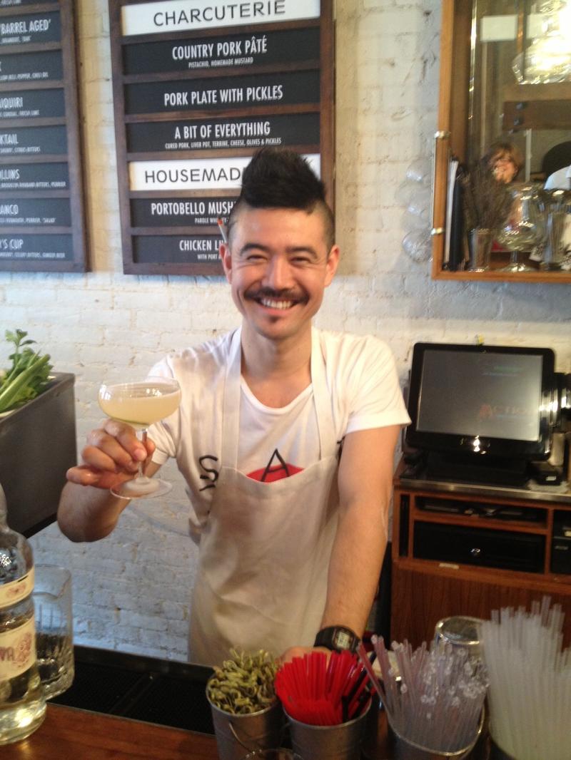Masa Urushido, bar manager, Saxon + Parole