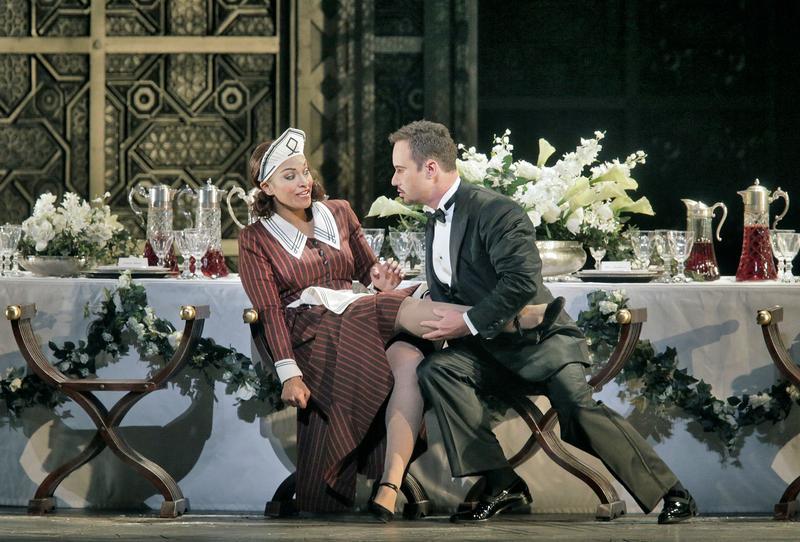 Danielle de Niese as Susanna and Mariusz Kwiecien as the Count in Mozart's 'Le Nozze di Figaro.'
