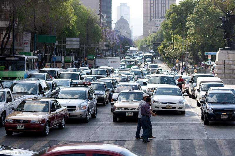 Mexico City traffic