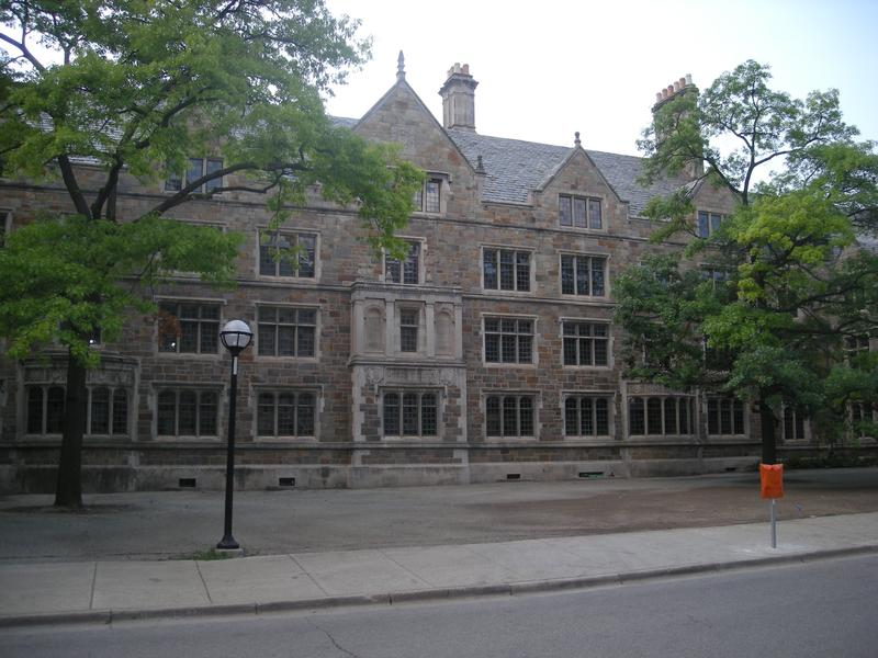 The Law Quadrangle at the University of Michigan