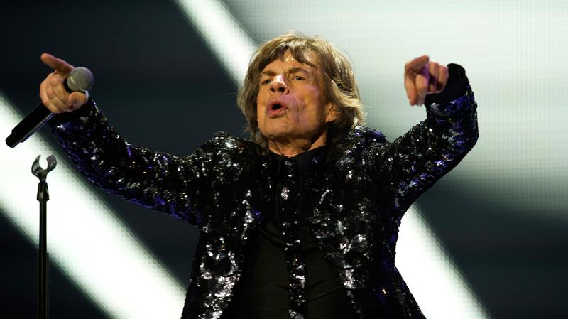 Mick Jagger of the Rolling Stones perform on Dec. 8, 2012 at the Barclays Center in Brooklyn, NY.