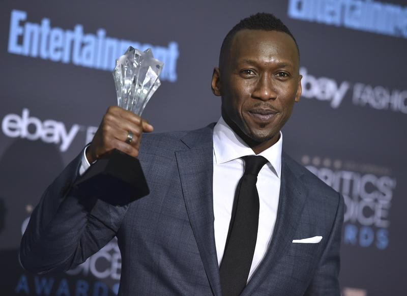 """Mahershala Ali, who won a Critics' Choice Award for best supporting actor for """"Moonlight,"""" has been nominated for an Oscar."""