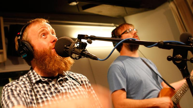 Moreland & Arbuckle perform in the Soundcheck studio.