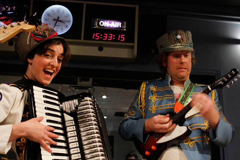 Mucca Pazza performs in the Soundcheck studio.