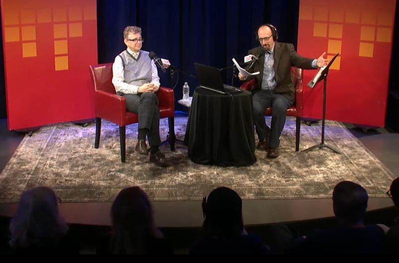 WNYC's Nancy Solomon, live in the Greene Space with Brian Lehrer.