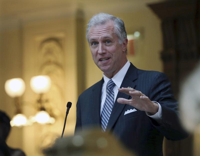 In this Friday, Oct. 7, 2016 file photo, New Jersey Assemblyman John S. Wisniewski addresses the Assembly in Trenton. On Tuesday, Nov. 15, 2016, Wisniewski announced he is running for governor.