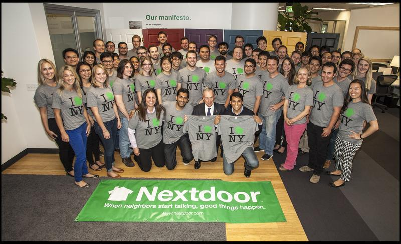 The Bloomberg administration is partnering with Nextdoor, a sort of Facebook for neighborhoods.