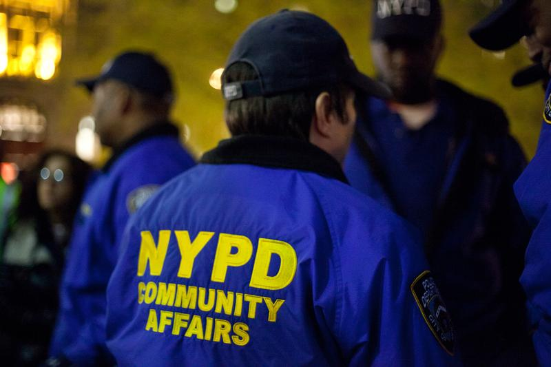 NYPD Community Affairs police