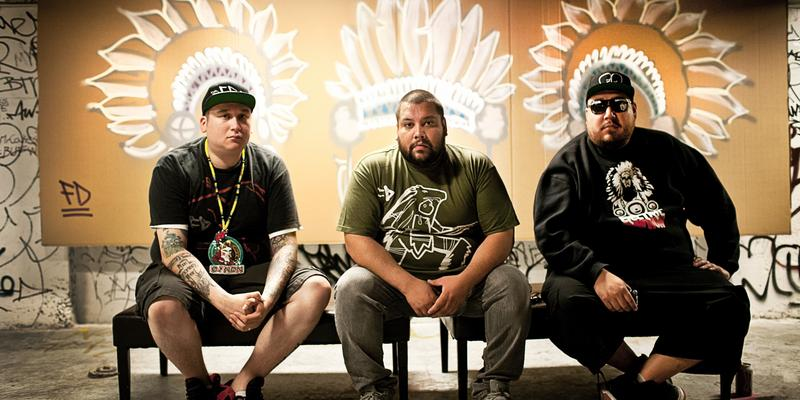 A Tribe Called Red's new record is 'We Are the Halluci Nation.'