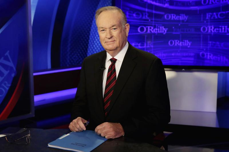 "Bill O'Reilly hosted ""The O'Reilly Factor"" on the Fox News Channel"