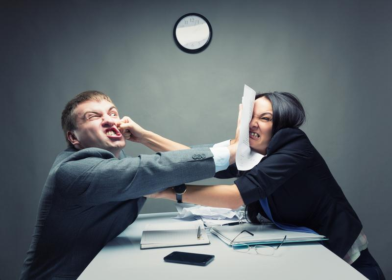 Fighting with your co-workers? There are ways to fix the relationship that will make you happier and more productive in the office.