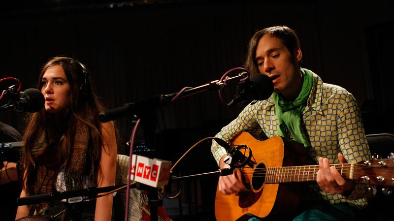 Of Montreal performs in the Soundcheck studio.