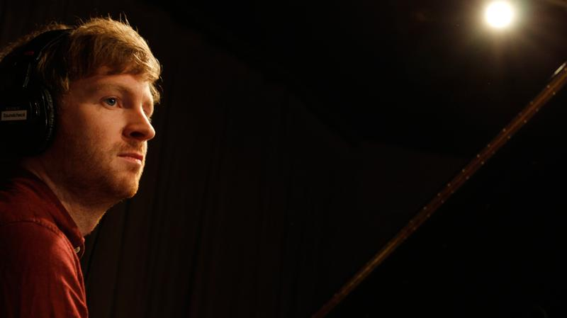 Olafur Arnalds performs in the Soundcheck studio.