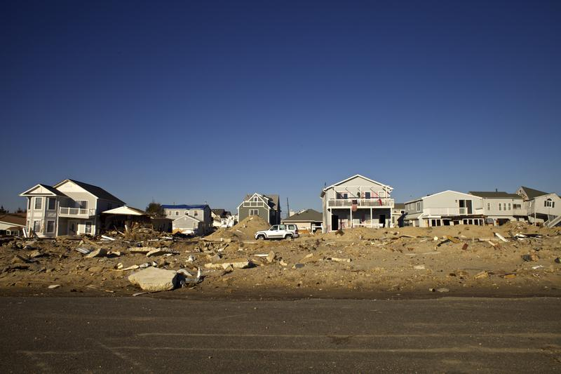 Hurricane Sandy wiped out a whole row of houses on Fielder Avenue in Ortley Beach on the Jersey Shore.
