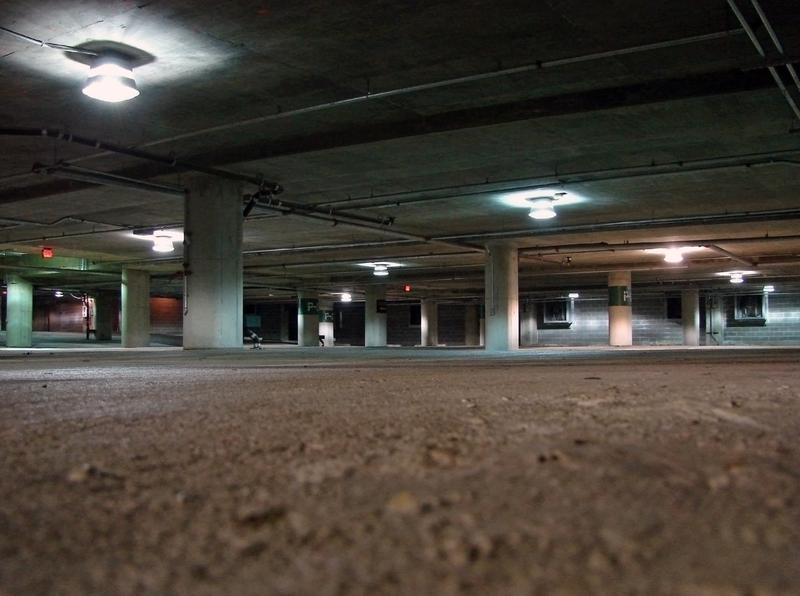 A parking garage in D.C.
