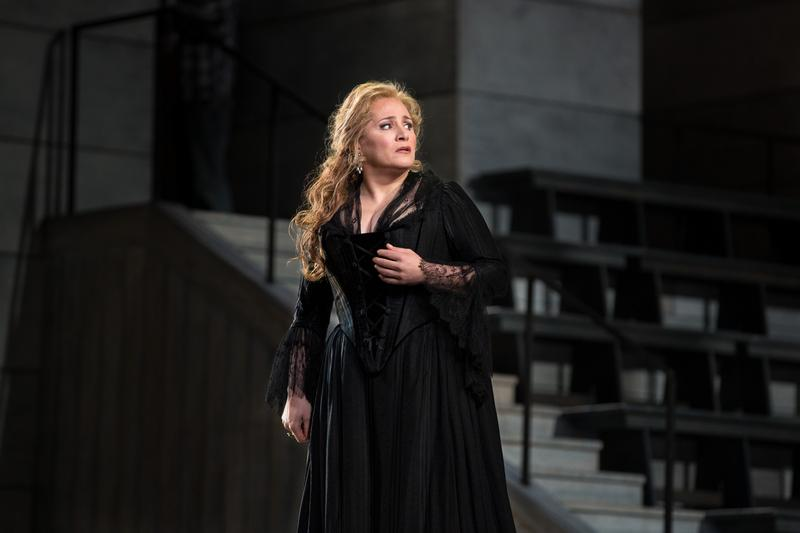 "Patricia Racette as Maddalena in ""Andrea Chénier"" at the Metropolitan Opera"